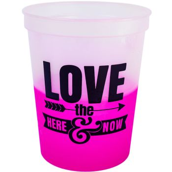 16oz Color Changing Stadium Cups