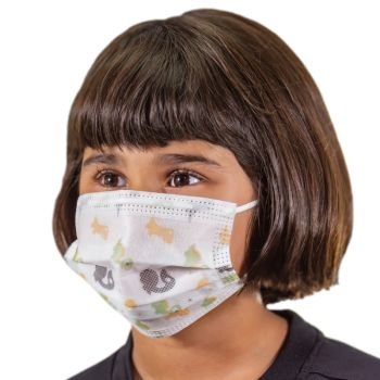 3-Ply Kids Disposable Face Masks
