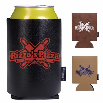 KOOZIE® Leather-Like Can Cooler