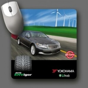 ReTreads (R) Recycled Tire Mouse Pad