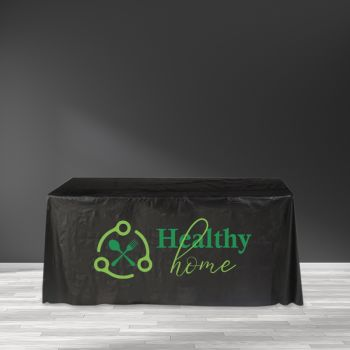 """Recyclable Plastic Table Cover - 65"""" x 65"""""""